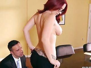 Anal Sex, Big Tits, British, HD, Jayden Jaymes, MILF, Perverted, Redhead,