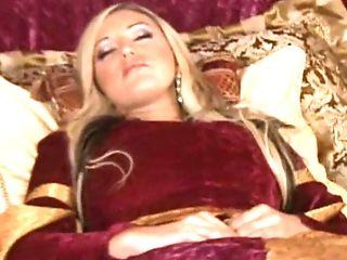 Bedroom, Blonde, Cute, Lingerie, Memphis Monroe, Sexy, Sleep, Stockings, Stylish, Uniform,
