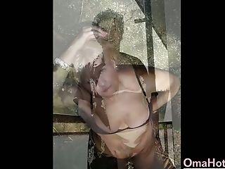 Compilation, Exhibitionist, Granny, Masturbation,