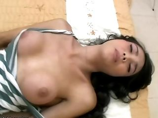 HD, Ladyboy, Lingerie, Masturbation, Puffy Nipples, Solo, Stockings, Teen, Young,
