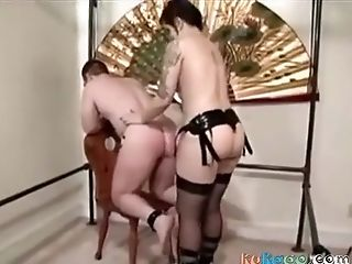 Pegging, Strapon, Wife,