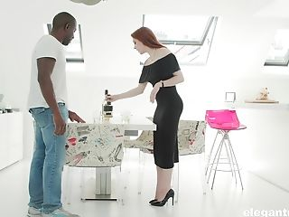 Anal Sex, Ass, Ass Fucking, Big Black Cock, Big Cock, Black, Blowjob, Boots, Cowgirl, Cum On Tits,