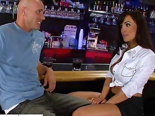Ass, Bar, Big Tits, Blowjob, Cute, Dick, Handjob, HD, Lisa Ann, Masturbation,
