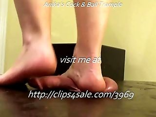Balls, Dancing, Desk, Dick, HD, Music, Trampling,