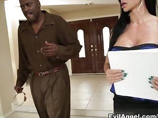 Amazing, Big Ass, Big Tits, Brunette, Interracial, Jewels Jade, Lexington Steele, MILF, Pornstar,