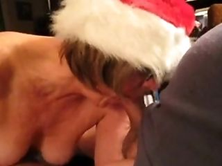 Amateur, Blowjob, Mature, Neighbor, Santa, Wife,