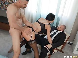 Big Tits, Blowjob, Bra, Couple, Cowgirl, Cuckold, Fake Tits, Friend, Hardcore, Lingerie,
