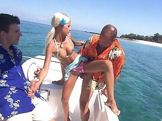 Ass, Bikini, Blonde, Blowjob, Boat, Boroka Bolls, Close Up, Cowgirl, Cute, Fucking,