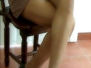 Ethnic, Latina, Legs, Lingerie, Pantyhose, Shemale, Stockings, Tanned,