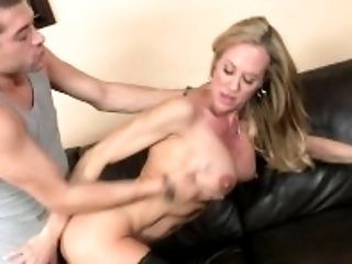 Ass, Big Tits, Blonde, Blowjob, Bobcat, Brandi Love, Clit, Cougar, Cute, Dick,