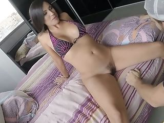 Beauty, Brunette, Cute, Horny, MILF, Nacho Vidal, Oral Sex, Pussy, Slut, Tongue,