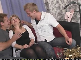 Cute, Granny, Group Sex, Mature, Old, Pick Up, Pussy, Sexy, Threesome,