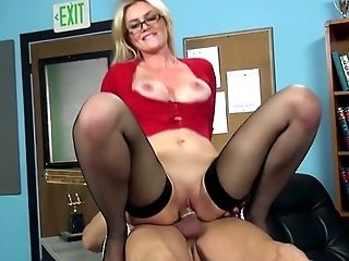 Beauty, Blonde, Boss, Cowgirl, Cute, Desk, Gorgeous, Hardcore, Office, Riding,