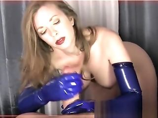 Fetish, Gloves, Milk, Rubber,