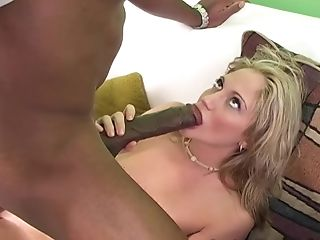 Ball Licking, Big Black Cock, Big Cock, Blowjob, Couple, Cowgirl, Cum In Mouth, Doggystyle, Hardcore, Interracial,