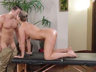 Ass, Big Tits, Blonde, Blowjob, Boots, Cowgirl, Cum On Tits, Cumshot, Cute, Hardcore,