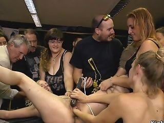 Big Ass, Blonde, Bondage, Orgy, Public, Voyeur,