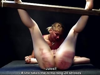 BDSM, Blonde, Caning, Fetish, Girlfriend, Spanking, Submissive, Torture,