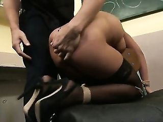 Angelica Heart, Babe, Big Tits, Blowjob, Brunette, Masturbation, Naughty, Teacher,