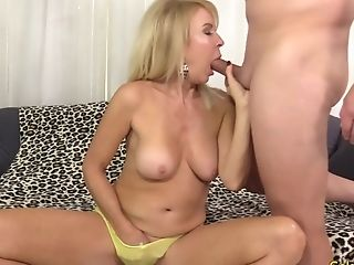 Blonde, Erica Lauren, Granny, Mature,