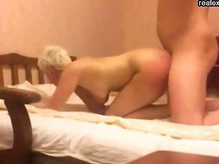 Anale Seks, Blond, Creampie, Ouderen, Mam, Ruw,