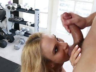 Big Cock, Big Tits, Blonde, Blowjob, Cowgirl, Cunt, Doggystyle, Gym, Hardcore, Long Hair,