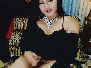 член, дрочущий, Pretty, трансвеститы, веб камера,