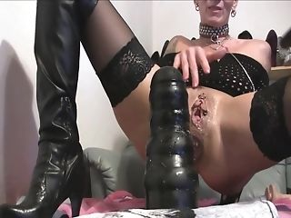 Anal Toying, Blonde, German, Goth, MILF, Model, Nylon, Piercing, Pussy, Sex Toys,