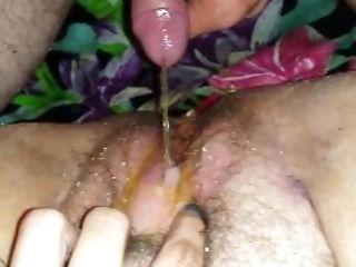 Amatoriale, Bbw, Grassottello, Clitoride, Ravvicinato, Cazzo, Peloso, Pisciare, Figa, Non Circonciso,