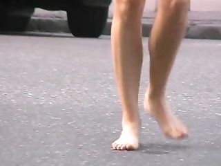 Amateur, Barefoot, Foot Fetish, HD, Nature, Outdoor,
