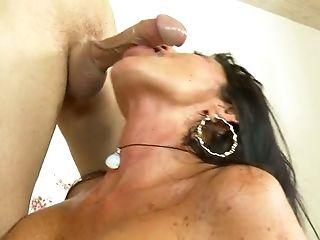 Big Tits, Blowjob, Bold, Brunette, Handjob, Hardcore, MILF, Riding, Stockings, Tara Holiday,