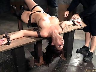 BDSM, Bondage, Cute, Dungeon, Fetish, Horny, Shaved Pussy, Torture,