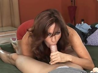 Blowjob, Brazilian, Brunette, Friend, HD, Mature, MILF, Mom, Tara Holiday,