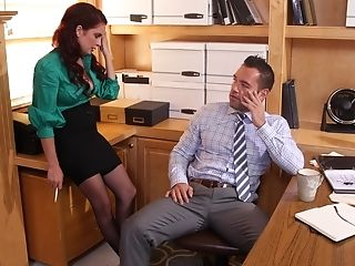American, Babe, Big Clit, Big Tits, Boss, Casting, Clothed Sex, Condom, Cute, Desk,