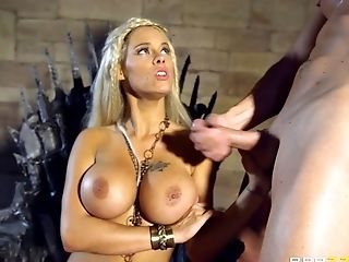 Big Tits, Blonde, Blowjob, Bold, Close Up, Couple, Cowgirl, Dick, Doggystyle, Fake Tits,