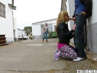 Big Ass, Big Cock, Blonde, Captive, HD, Jakeline Teen, Outdoor, Punishment, Spanish, Teen,