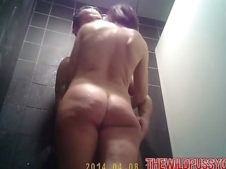 Blowjob, Couple, Cute, Hardcore, Hidden Cam, High Heels, Housewife, MILF, Natural Tits, Shower,