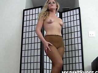 Babe, BDSM, Femdom, HD, Joi, Lingerie, Nylon, Pantyhose, POV, Stockings,