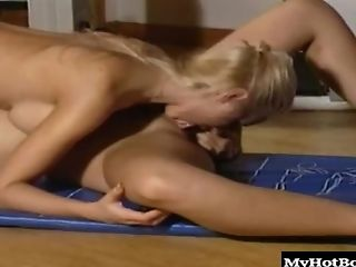 Alexa Weix, Blonde, Friend, Gym, Lesbian, Natural Tits,