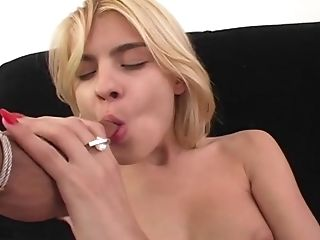 Ass Fingering, Ball Licking, Blonde, Blowjob, Cowgirl, Dick, Doggystyle, FFM, Hardcore, Jasmine Rouge,