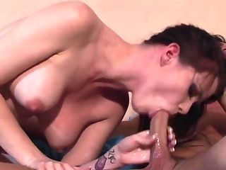 Blowjob, Brunette, Dick, HD, Raven Alexis, Rough,